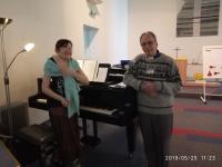 Muusikaõpetaja Külli ja pastor Tõnu
